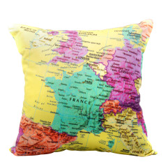 Map of Europe cushion