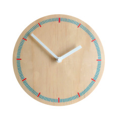Objectify markers wall clock