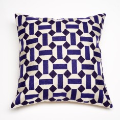 Marrakesh indigo cushion