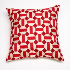 Marrakesh red cushion