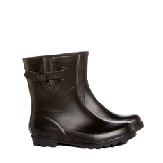 Matt black mini wellies