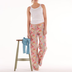 Lounge pants in mauvey pastel
