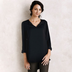 Florencia top in Black
