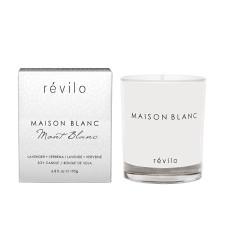 Maison blanc mont blanc lavender + verbena soy candle