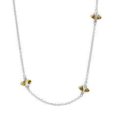 Honey Gold Germeil 3 Bee Necklace