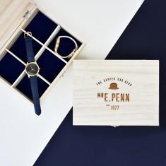 Dapper Dad Club Personalised Watch Box
