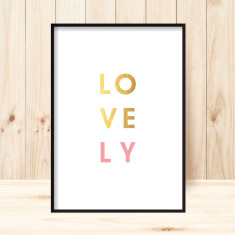 Lovely art print