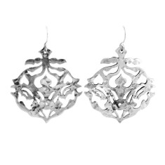 Andalusia drop earrings in sterling silver