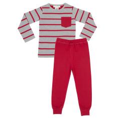 Boys block stripe pyjamas
