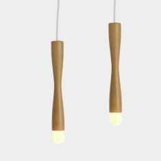 Scandinavian Timber Pendant light