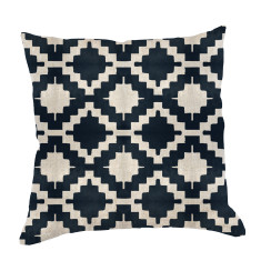 Glyph Urban Aztec Cushion Cover in Ink