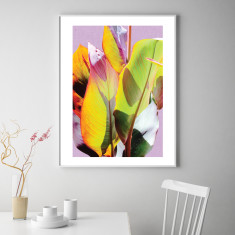 Cannas leaves #2 art print (various sizes)