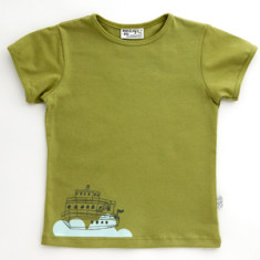 Steamboat t-shirt in avocado