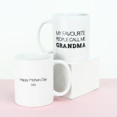 My favourite people call me grandma mug