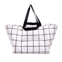 Large neverful lines bag