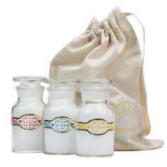 Epsom bath salts gift set