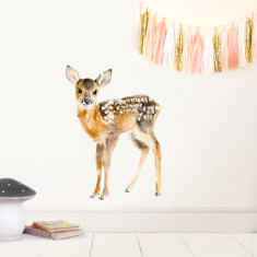 Fawn Wall Sticker (Small)