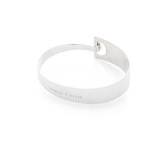 Meg personalised sterling silver cuff bracelet