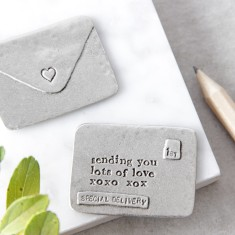 Lots Of Love Envelope Message Token
