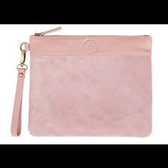 Mendez rosa clutch