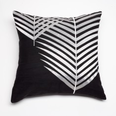 Mendoza charcoal cushion