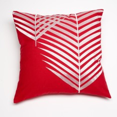 Mendoza red cushion