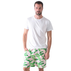Tropical punch men's sleep shorts