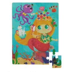 Mermaid people puzzle
