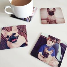 Personalised pet photo coasters (set of 4)