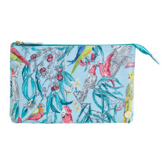 Birds & Blossoms Medium Toiletry Bag