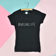 Mum life slogan t-shirt