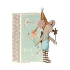 Mouse Tooth Fairy Boy in Matchbox