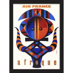 Air France to Afrique Print