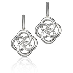 Large Love Knot Earrings