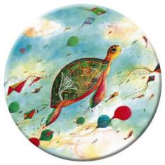 Turtle pocket mirror