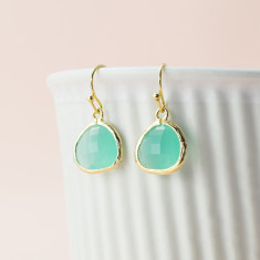 Calm sea earrings