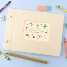 Personalised First Day Of School Mini Photo Album