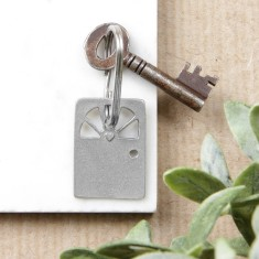 Heart Door Key Ring
