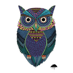 Michael the Magical Owl art print