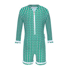 Mieke green all-in-one UV suit