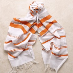 Mijas scarf in orange