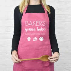 Bakers gonna bake emoji apron