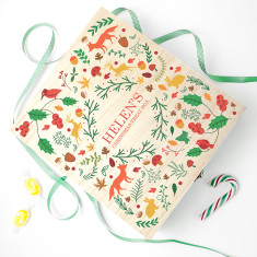 Festive Woodland Christmas Treat Box