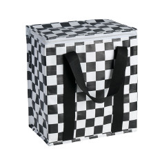Insulated Cooler bag in Checkerboard print