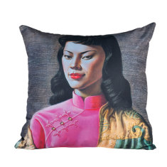 Miss Wong cushion