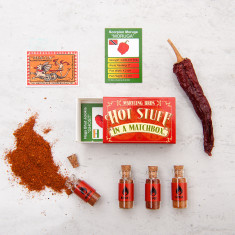 World's Hottest Chilli Powders In A Matchbox