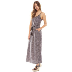 Serpent Dress Charcoal