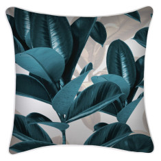 Outdoor Cushion Cover-Lux Teal (various sizes)