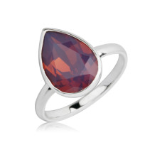 Chylamen teardrop ring