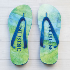 Personalised Women's Thongs (Various Designs)